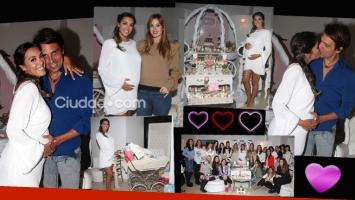 Las fotos del baby shower de Floppy Tesouro. Foto: Movilpress