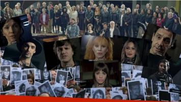 Músicos argentinos en el 22° aniversario del Atentado a la AMIA. Foto: Web/ Captura