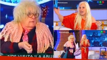 ¡La Abuela de Gasalla regresó al programa de Susana! Foto: Captura