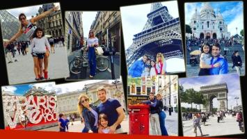 Claudia Fernández y su álbum de viaje junto a familia en Europa (Foto: Instagram)