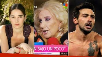 Mirtha Legrand habló del rumor de affaire entre Juana Viale y el Pocho Lavezzi