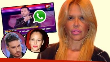 El enojo de Nazarena Vélez tras el debate sobre el supuesto embarazo de Bárbara (Foto: web)