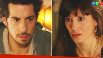 La emotiva escena de Esteban Lamothe y Griselda Siciliani en Educando a Nina (Fotos: Captura)