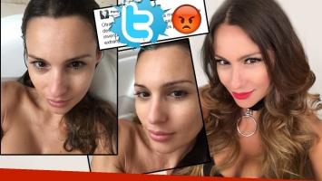 Pampita dejó en claro que ella no es la protagonista de las imágenes hot que se viralizaron por WhatsApp (Foto: Twitter)