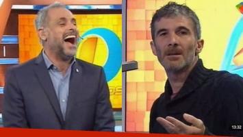 El divertido chicaneo entre Jorge Rial y el locutor de Intrusos