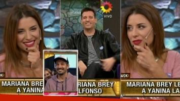 La explicación de Mariana Brey sobre su relación con el hermano de Pedro Alfonso (Foto: web)