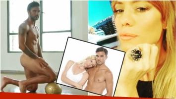 La opinión de Nicole Neumann sobre la producción de fotos hot de Fabián Cubero (Fotos: Captura y Web)