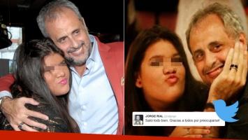 El tweet de Rial tras la operación de su hija, Morena (Foto: Web y Twitter)
