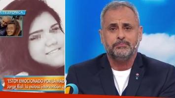 Jorge Rial, tras la exitosa operación de su hija (Foto: Web)