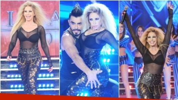 El debut de la abogada hot en ShowMatch (Fotos: Prensa Ideas del Sur)
