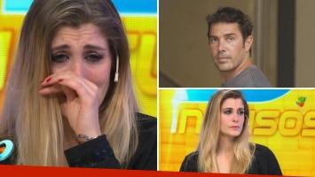 El llanto de Florencia Maggi al contar sobre su embarazo con Matías Alé