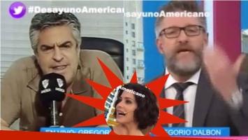 Luis Novaresio se enojó en Desayuno americano con el abogado de Cristina Fernández. Foto: Captura