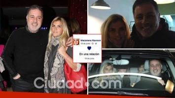 Fabián Doman y Macarena Rawson Paz, la nueva pareja top de la farándula. (Foto: Ciudad.com / Web)