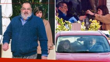 El conductor de PPT viajó el jueves pasado a Uruguay y la revista Pronto lo encontró junto a una joven mujer en un restaurante y compartiendo un auto.