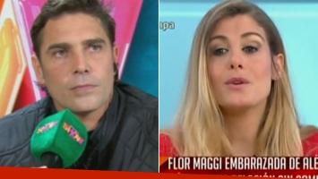 La reacción de Matías Alé al enterarse del embarazo de Flor Maggi.