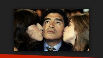 El motivo por el que Maradona no les habla a sus hijas mayores.