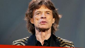 A los 72 años, Mick Jagger va a ser padre por octava vez (Foto: Web)
