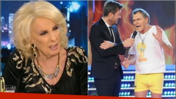 Mirtha Legrand, molesta por el sketch de Mauricio Macri en ShowMatch. Foto: Captura/ Ideas del sur