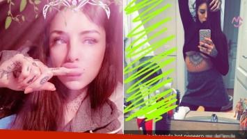 Cande Tinelli y su foto sexy en Snapchat.