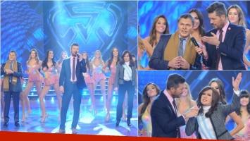 Las imitaciones de Cristina Fernández y Mauricio Macri visitaron ShowMatch. Foto: Ideas del sur