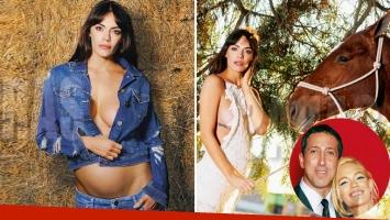Emilia Attias habló de su embarazo de seis meses con el Turco Naím. (Foto: Revista Caras)
