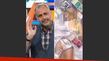 La anécdota retro de Jorge Rial con 'la cabina del dinero'