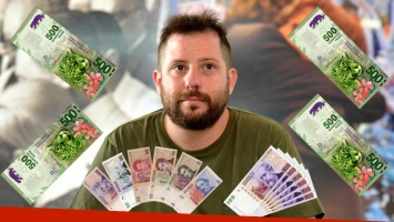 ¡Pura suerte! José Ottavis ganó 670.000 pesos en la lotería nacional: qué números jugó