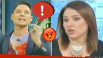 Bochornosa reacción de Lío Pecoraro tras una picante crítica de Fernanda Iglesias (Fotos: Captura)