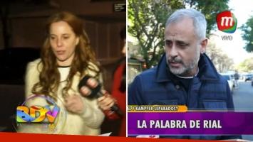 El sugestivo silencio de Jorge Rial y Agustina Kampfer cuando le preguntaron por su supuesta separación