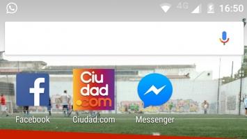 Bot de Ciudad.com en Facebook Messenger.
