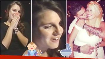 La emoción de Ivana Icardi al enterarse que será nuevamente tía (Fotos: Captura y Web)