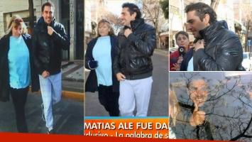 Matías Alé fue dado de alta tras su segundo brote psicótico (Foto: Web)