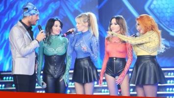 El show de Bandana en ShowMatch (Foto: Prensa Ideas del Sur)
