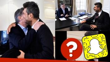 Mauricio Macri y Marcelo Tinelli