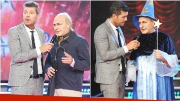 Fredy Villarreal se puso en la piel de Fernando de la Rúa y divirtió con su previa en ShowMatch (Fotos: Prensa Ideas del Sur)