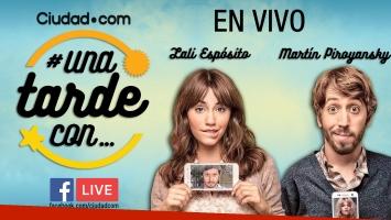 Lali Espósito y Martín Piroyansky en #Unatardecon.