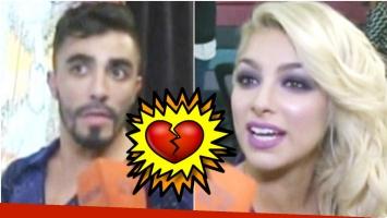 La relación de Fernando Bertona y Ailén Bechara, irreconciliable (Fotos: Captura)