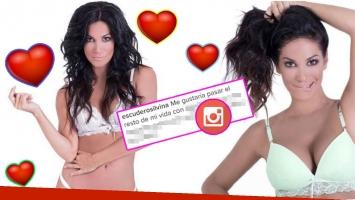 La foto hot de Silvina Escudero con reflexión incluida (Fotos: Instagram)