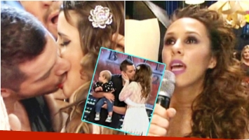 El tremendo beso de Fran Delgado y Charlotte Caniggia y la reacción de Barby Silenzi (Fotos: Captura)