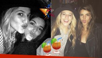 Las fotos del divertido encuentro de Calu Rivero y Marian Farjat en un boliche porteño (Foto: Instagram)