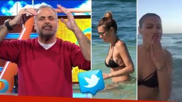 El apoyo de Jorge Rial a Pampita por su viaje relámpago a Miami