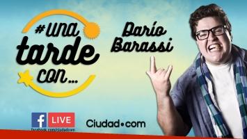 #Unatardecon Darío Barassi, vía Facebook Live.
