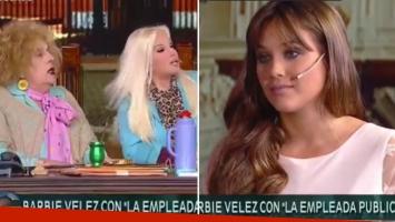 Barbie Vélez, en el programa de Susana.