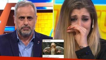 Jorge Rial, muy crítico con Florencia Maggi tras confirmar la pérdida de su embarazo de Matías Alé: