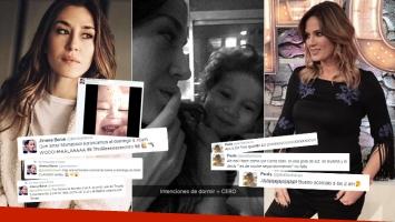 Jimena Barón y una divertida charla maternal con Paula Chaves en Twitter (Foto: Instagram)