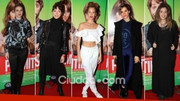 Los looks de las celebrities en la avant premiere de Permitidos.