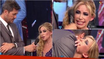La emoción de la abogada hot en ShowMatch por la muerte de su padre. Foto: Captura