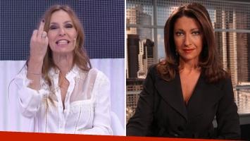 El ofensivo gesto Analía Franchín ante una declaración periodística de Mercedes Martí