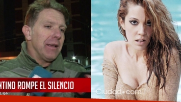 Fantino habló de su fuerte crisis con Miriam Lanzoni.