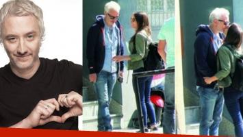 Andy Kusnetzoff fue papá por primera vez junto a Flor Suárez. Fotos: Web.